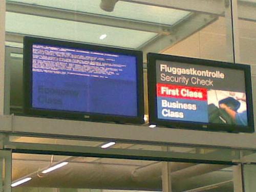 Bluescreen in Germany