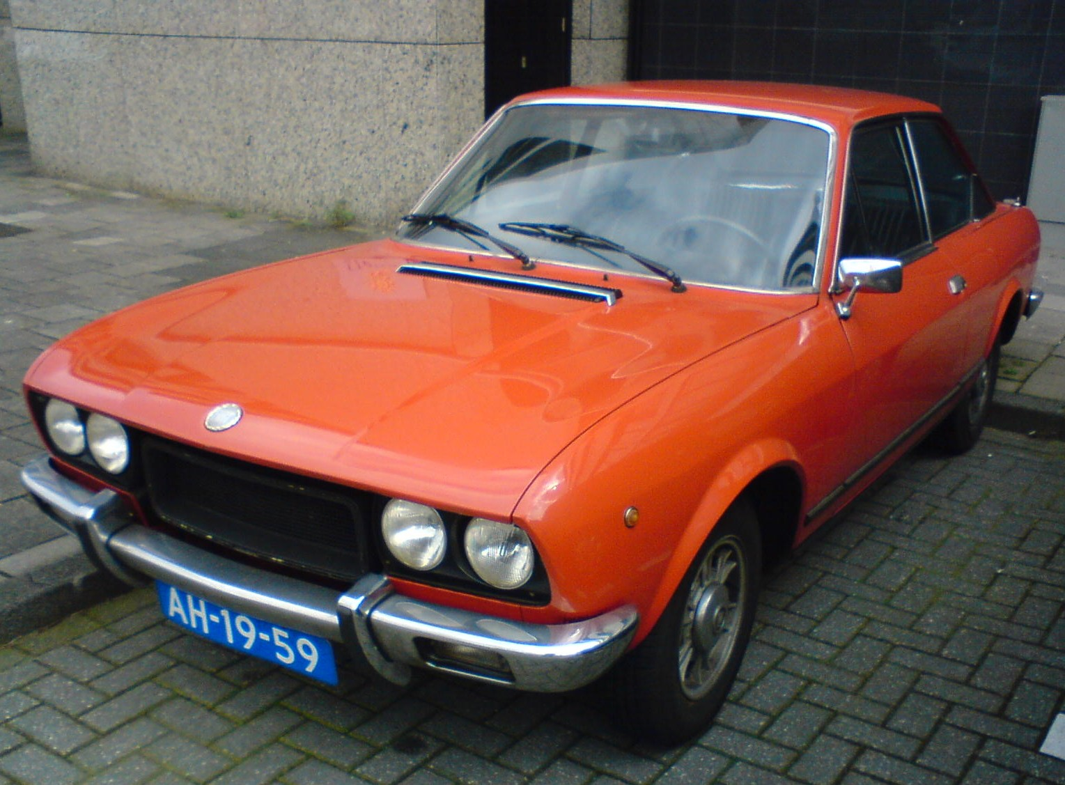 1972 fiat 124 sport coupe images pictures and videos. Black Bedroom Furniture Sets. Home Design Ideas