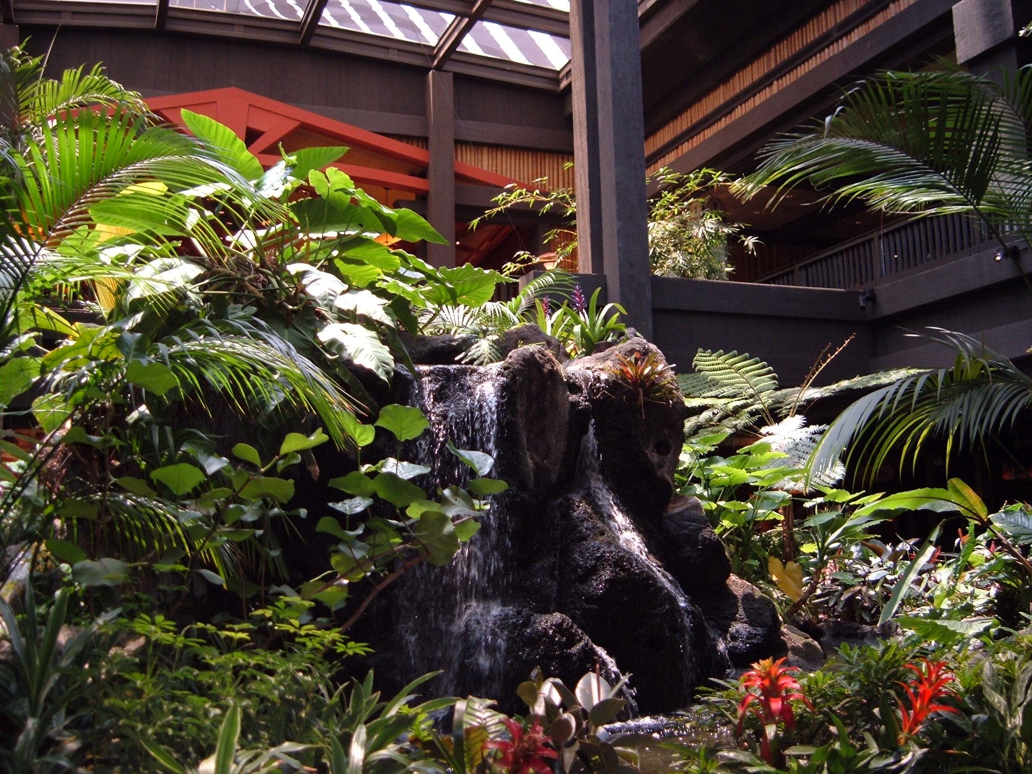 Polynesian Hotel Disney World Garden View Room Club Level