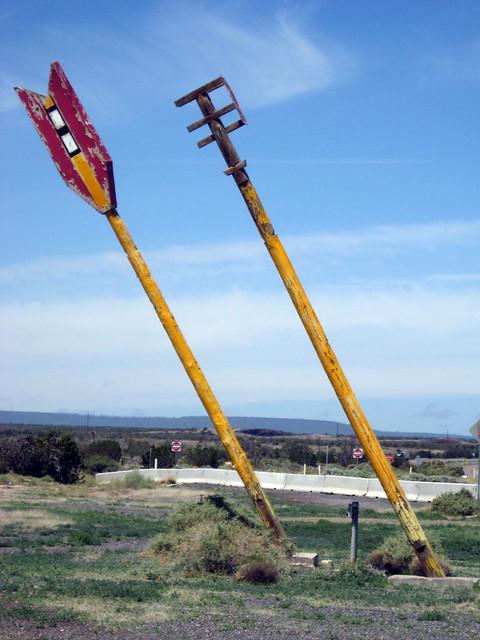Route 66, Twin Arrows, AZ