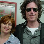 Gary Louris at WFUV with Claudia Marshall