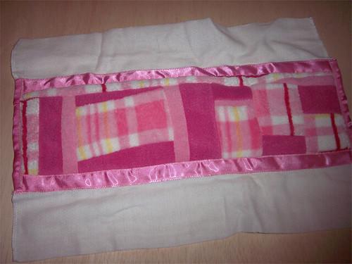 Austyn's uptown burp cloth