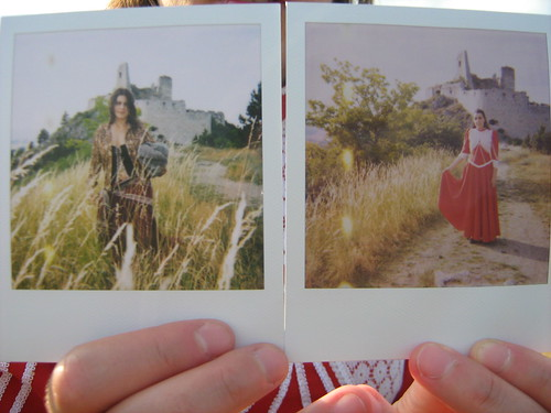 polaroides no castelo by julia zakia