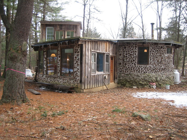 Cordwood house flickr photo sharing for Cordwood homes