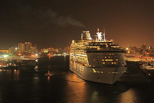 Royal Caribbean in San Juan by kennyd40xlemons