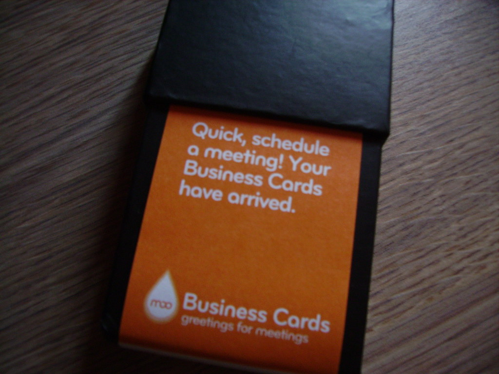New Free Moo Business Cards