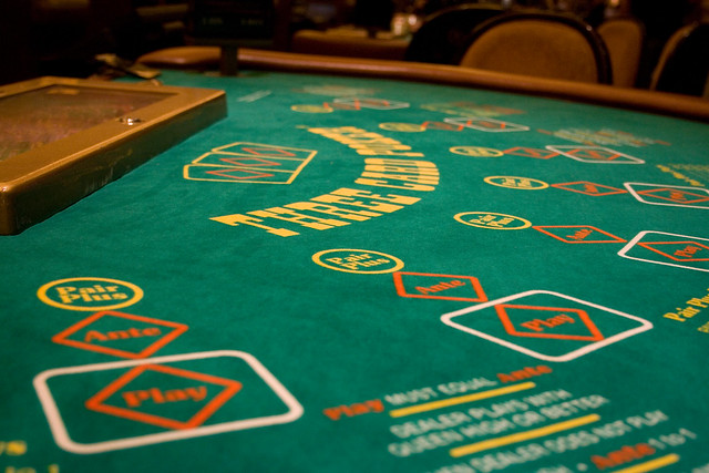 vegas 3 card poker payouts