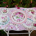 Beautiful Rose Mosaic Tile Table