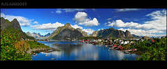 Reine Harbour Panorama