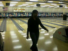 Bowling with cousin