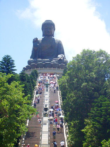 The Tian Tan Buddha, Lantau, Hong Kong
