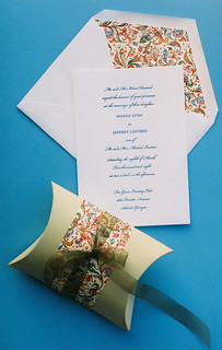Italiano Letterpress Wedding Invitation Set