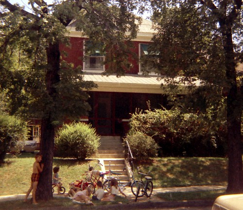 Carol's house, Oak St. Belleville, Illinois, 1969