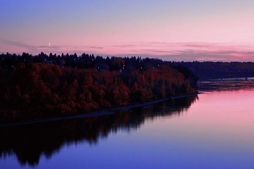 sunset fall edmonton dusk explore gmt colorphotoaward theworldinpink