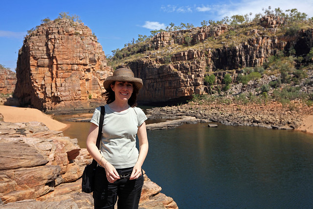 M. in Katherine Gorge