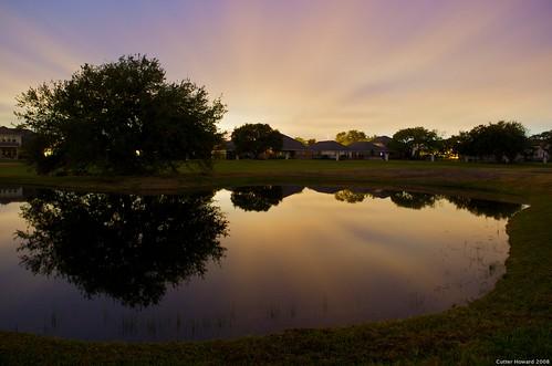 reflection sanantonio sunrise pond nikon texas golfcourse hyatt hillcountry d300 blueribbonwinner 1755mmf28 explored