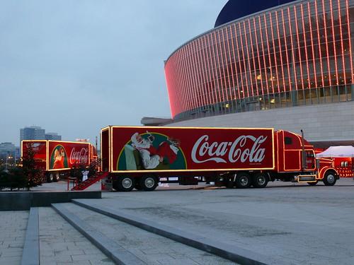 Coca-Cola-Weihnachtstruck's