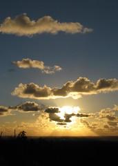 Sunset from Gooseberry Hill