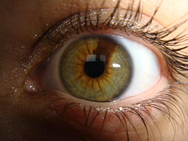 how to change brown eyes to green