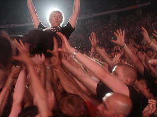 Green Day fan crowd surfing 7/16/09