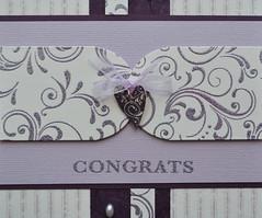 110607 Rita love Wedding Congrats detail