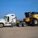 James hauling big rig