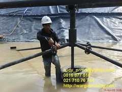 hdpe pipe project