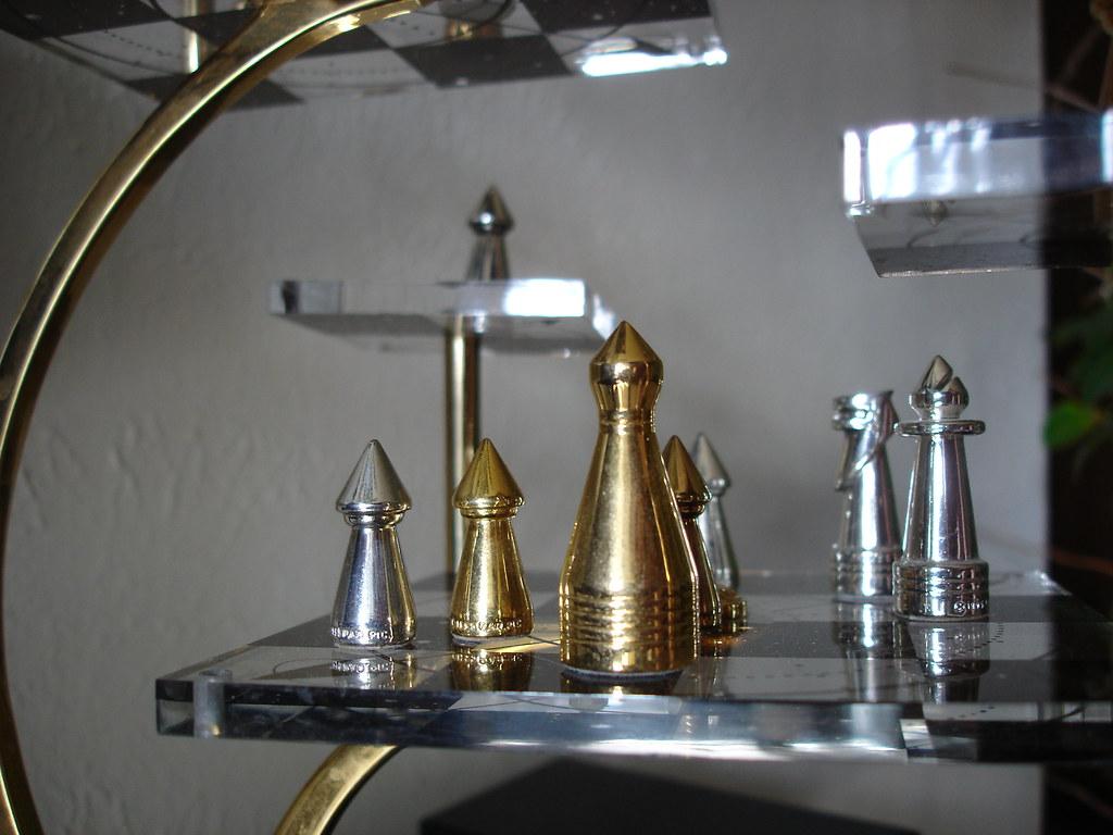 Star Trek Tridimensional Chess Set Closeup Of My Favorite Flickr