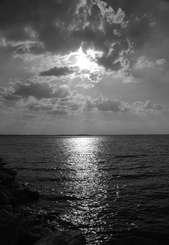 white black reflection geotagged southcarolina nikond40x