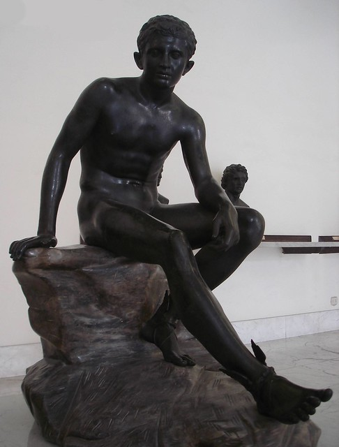 Mercury (seated Hermes) - Naples Museum