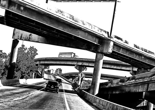 road bridge blackandwhite bw usa signs nature car minnesota digital truck canon geotagged 350d rebel xt cross bridges van mn digitalrebelxt gooseberry levels crossings gooseberryfallsstatepark gooseberrt korayem geo:lat=46793478 geo:lon=92089891