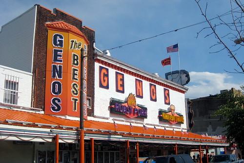 Philadelphia - Bella Vista: Geno's Steaks