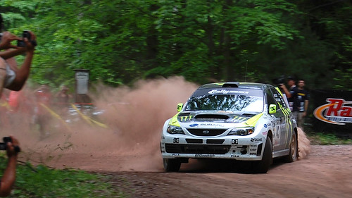 car race america nikon rally performance automotive pa trail subaru pan panning 2008 sti stpr wellsboro d40 susquehannock