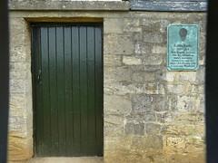 Photo of James Sadler bronze plaque
