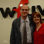 James Taylor at WFUV with Claudia Marshall