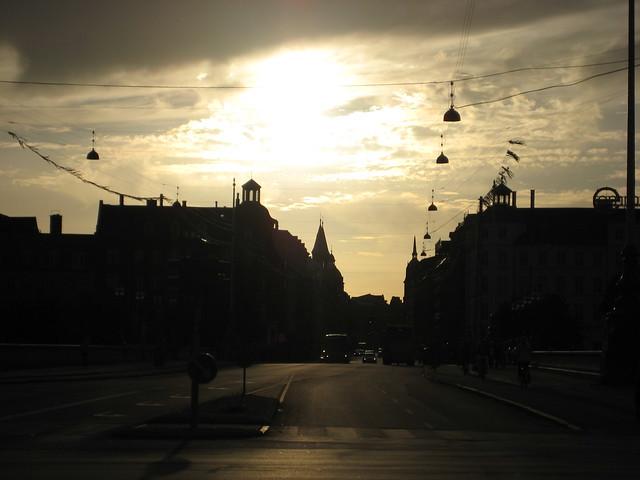 Sun over Copenhagen