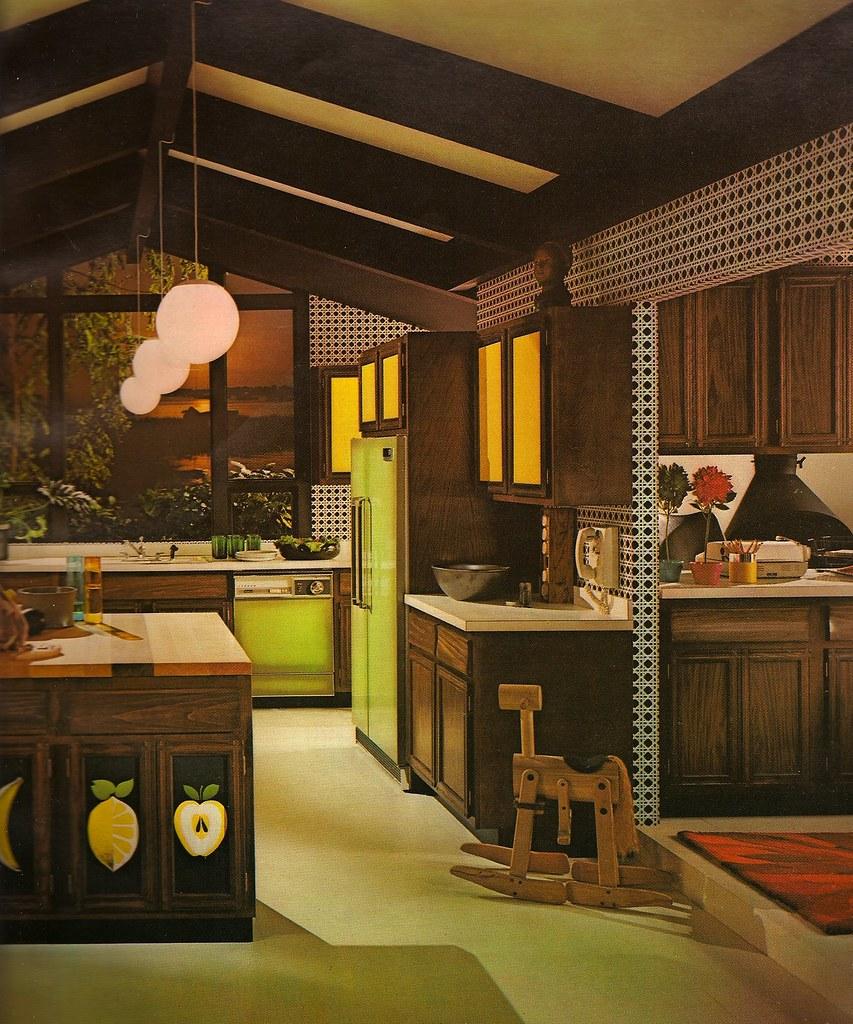 Architectural Digest: 1970s Architectural Digest Kitchen
