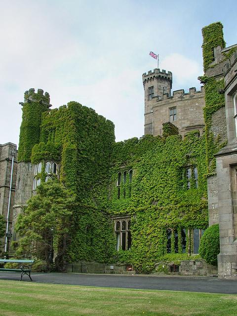 Hornby Castle, near Lancaster, Lancashire, UK