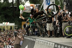 BMX show in Cologne