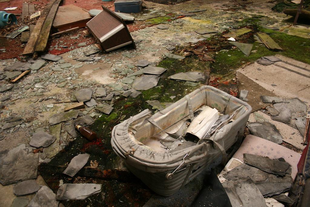 hospital en ruinas