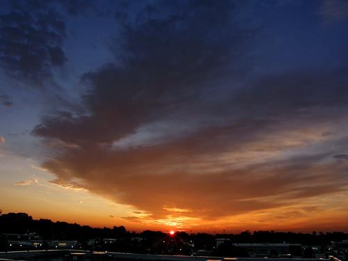 morning sky sun sunrise landscape dawn northcarolina raleigh daybreak morningsky firstlight tadsunrise sunrisedaily