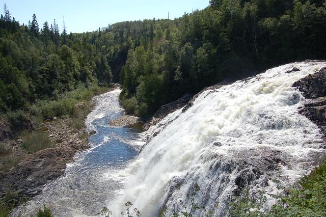 Magpie River Falls, Wawa