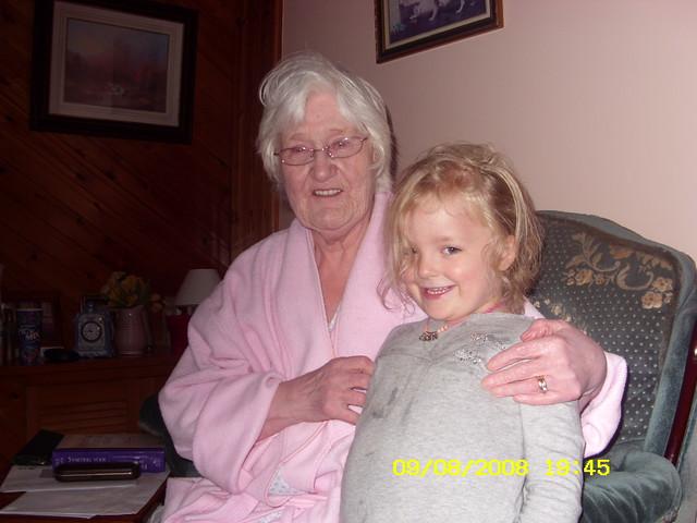 Erin Meets her Great Gran.