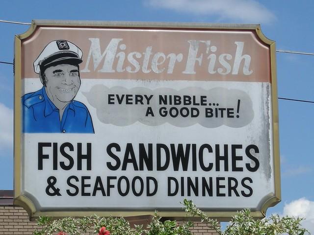 Mister Fish - 715 East Palmetto Street, Lakeland, Florida U.S.A. - September 6, 2008