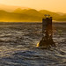 The Morro Bay MB Buoy and Seven Sisters Morros