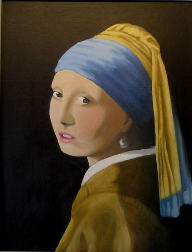 Girl with pearl earring by Sid's art
