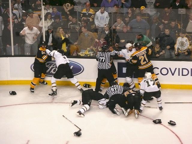 Hockey brawl!