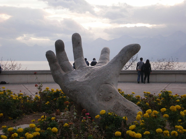 Hashim's hand