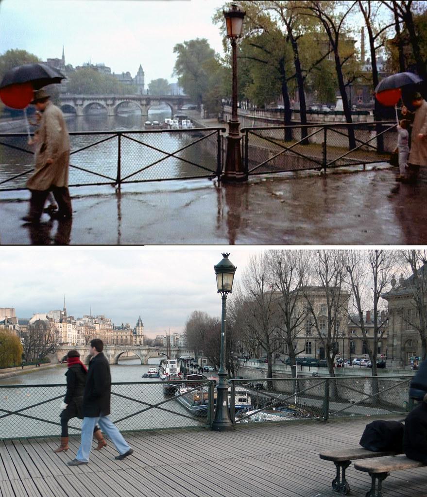 Pont des Arts 1956-2009