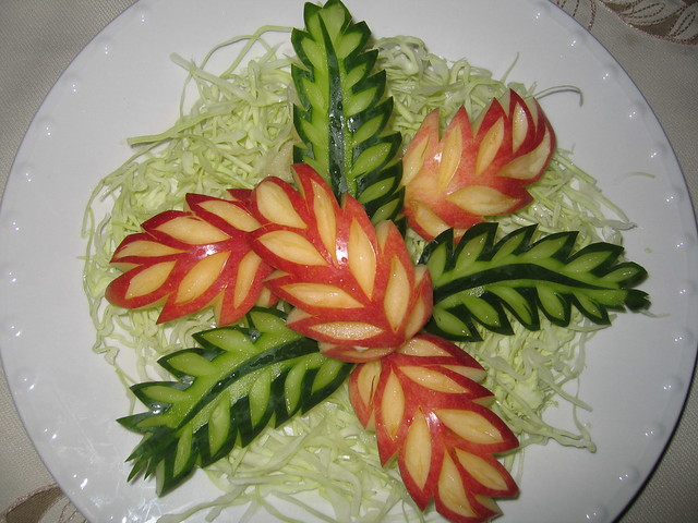 Vegetable fruit carving flickr photo sharing